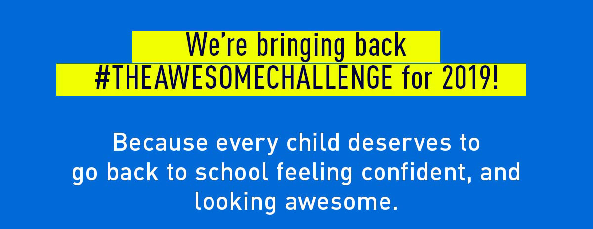 WE ARE BRINGING BACK #THEAWESOMECHALLENGE FOR 2019