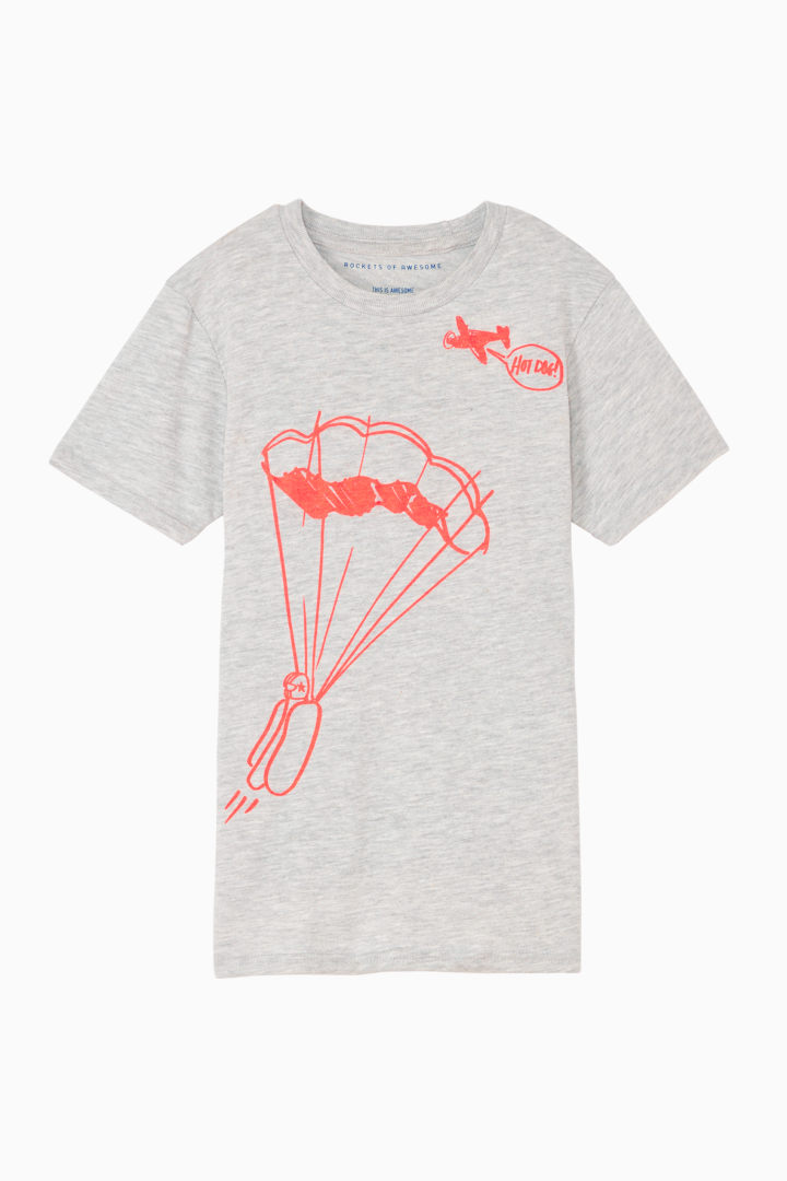 Hot Dog Tee front