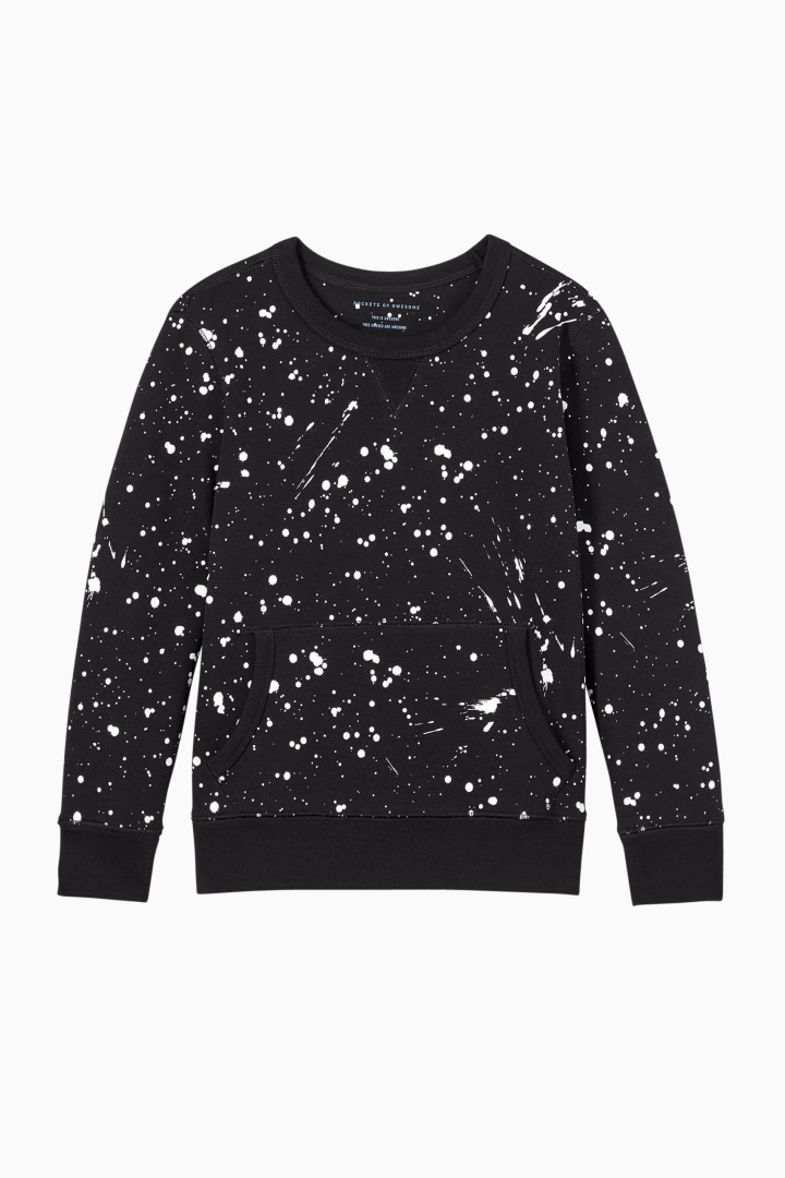 Glow-In-The-Dark Kangaroo Pocket Sweatshirt front