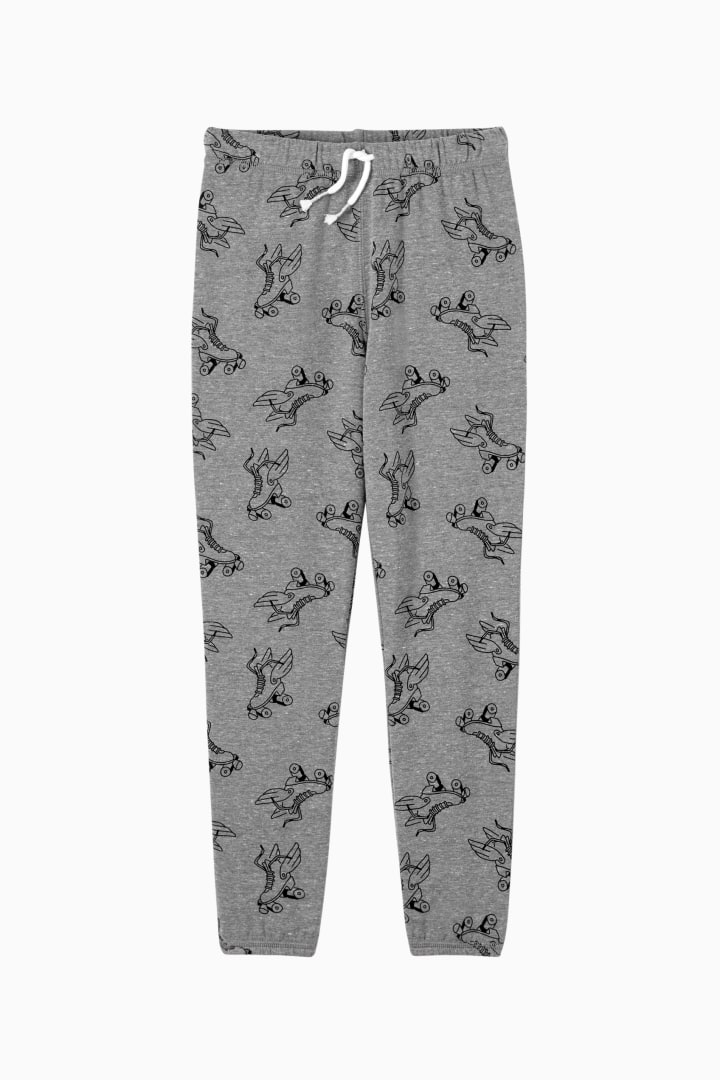 Printed Jogger front