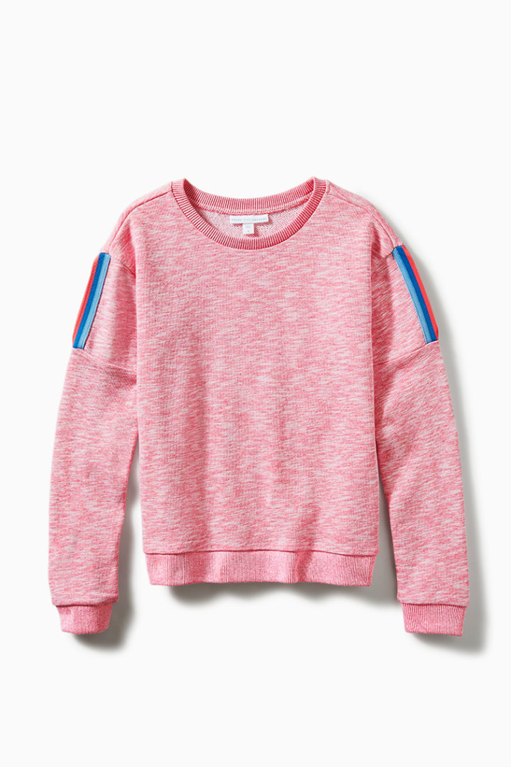 Shoulder Cut-Out Sweatshirt front