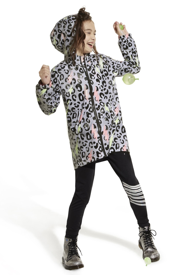 Color-Changing Raincoat In Leopard other
