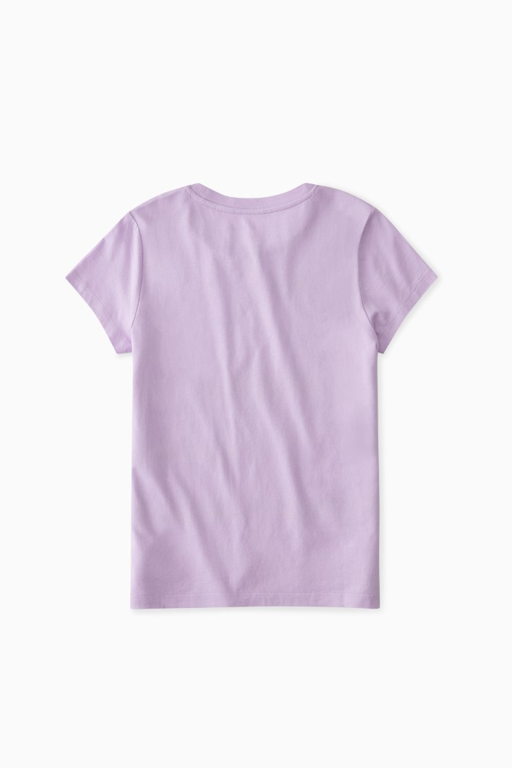 Brushed Sunset Sequin Tee back