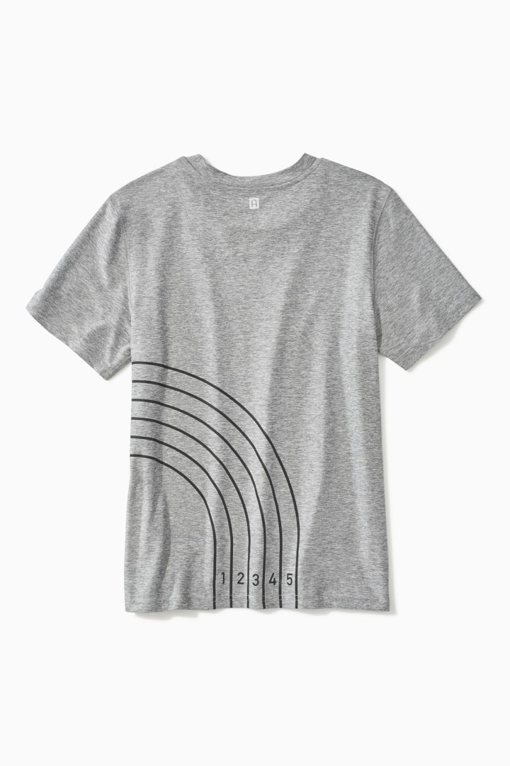 Reflective Track Active Tee back