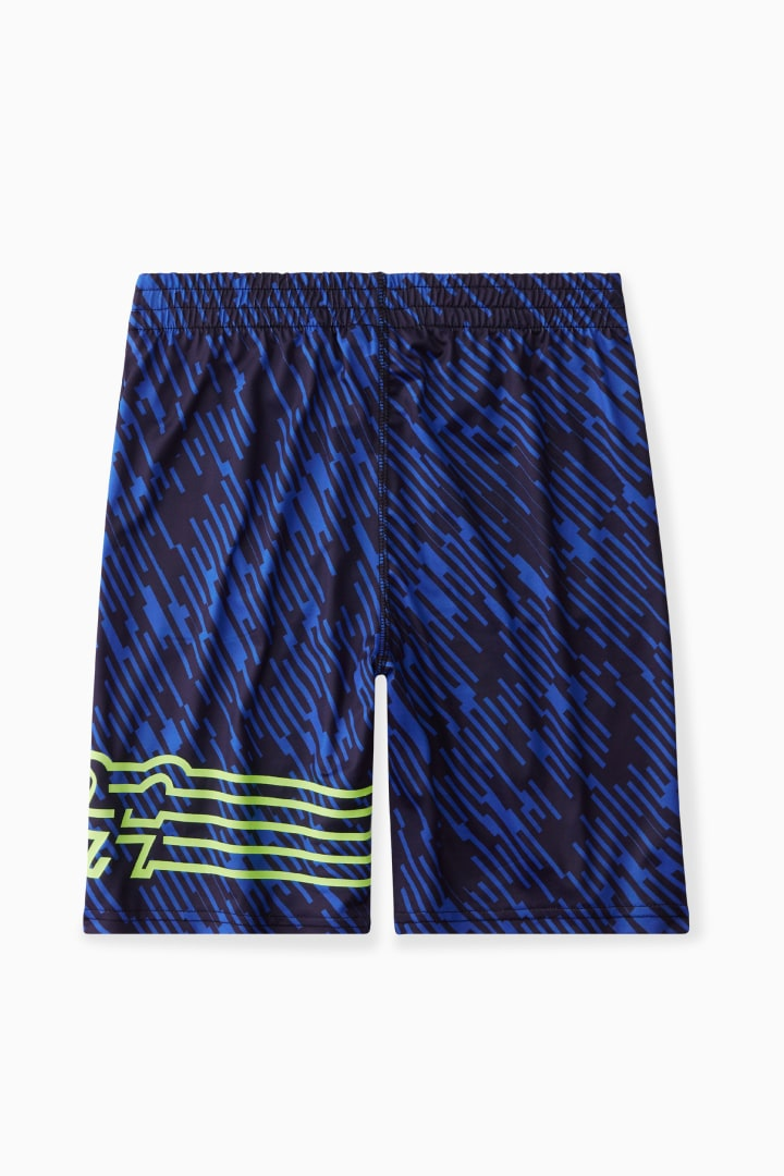Scribble Print Active Short back
