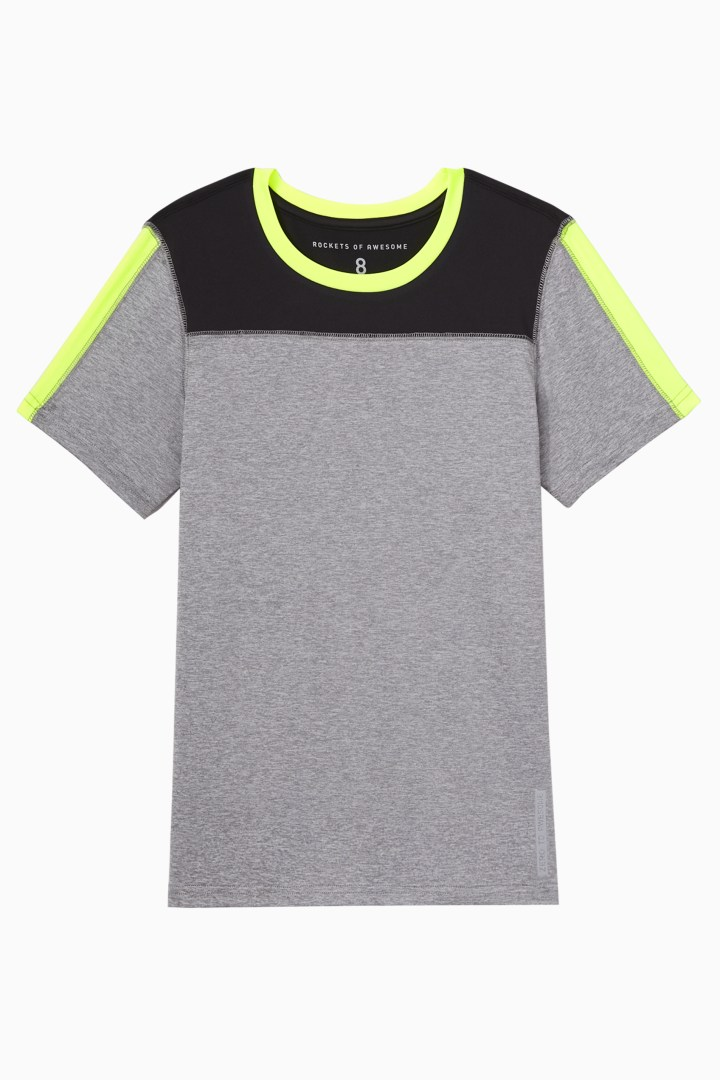 Colorblock Active Tee front