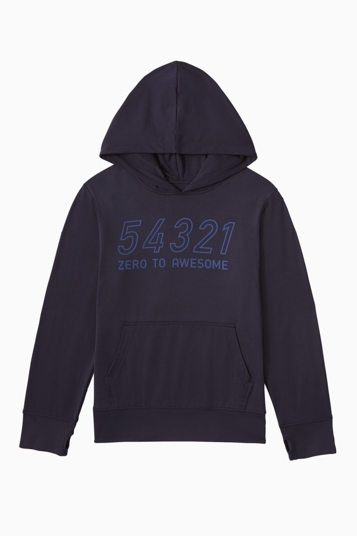 Countdown Active Hoodie front