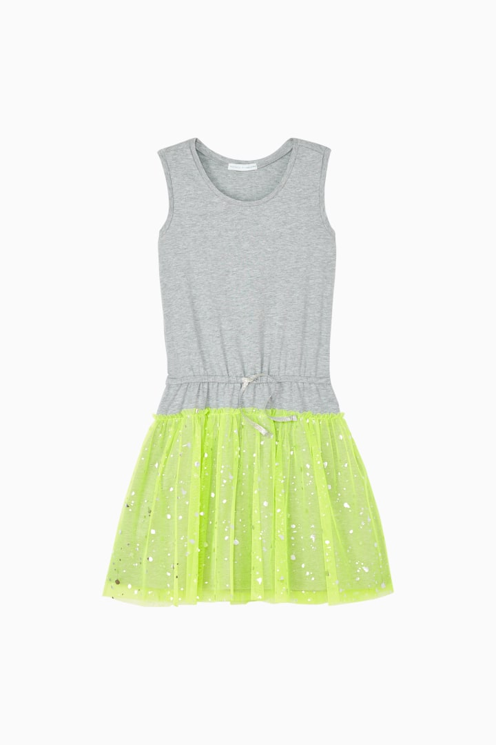 Tulle Cinch Dress front