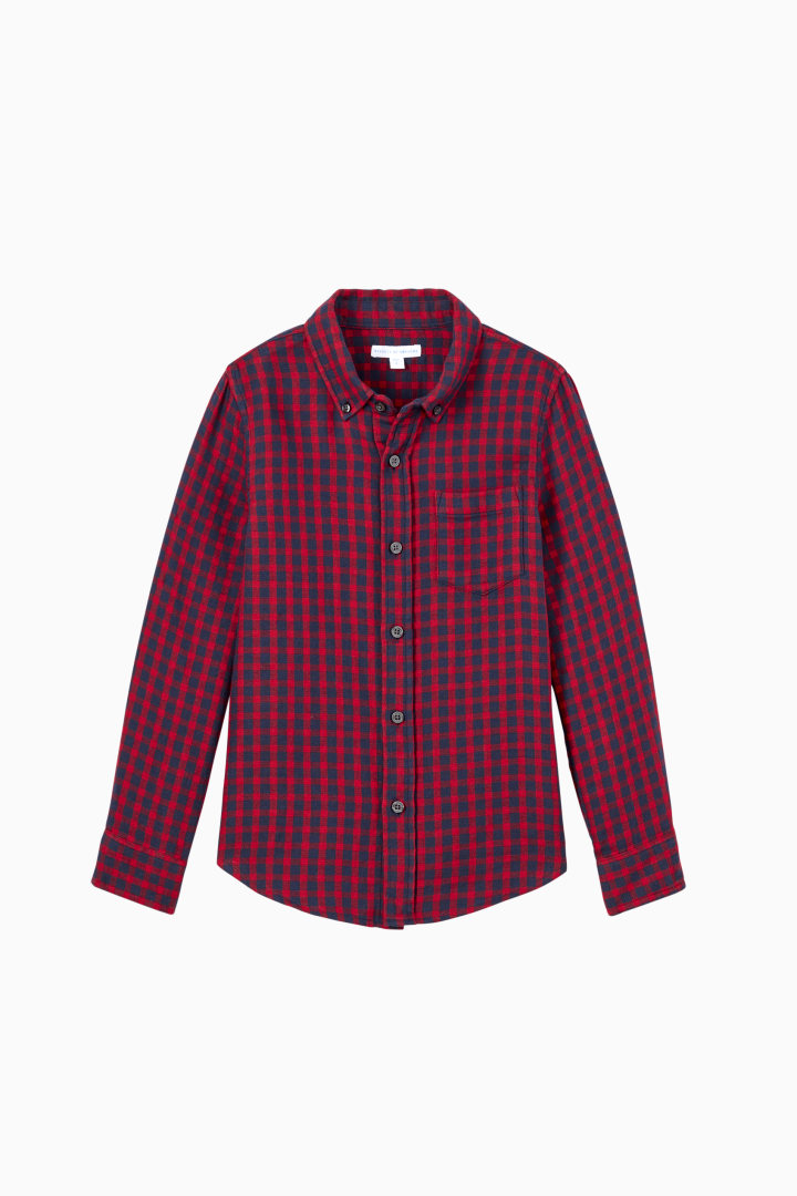 Check Flannel front