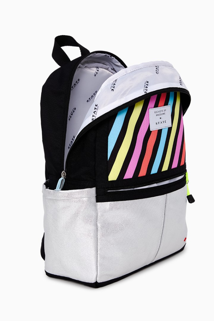 Rockets Of Awesome X State Backpack In Pastel Rainbow other