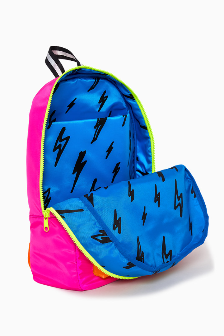 Neon Pink Backpack other