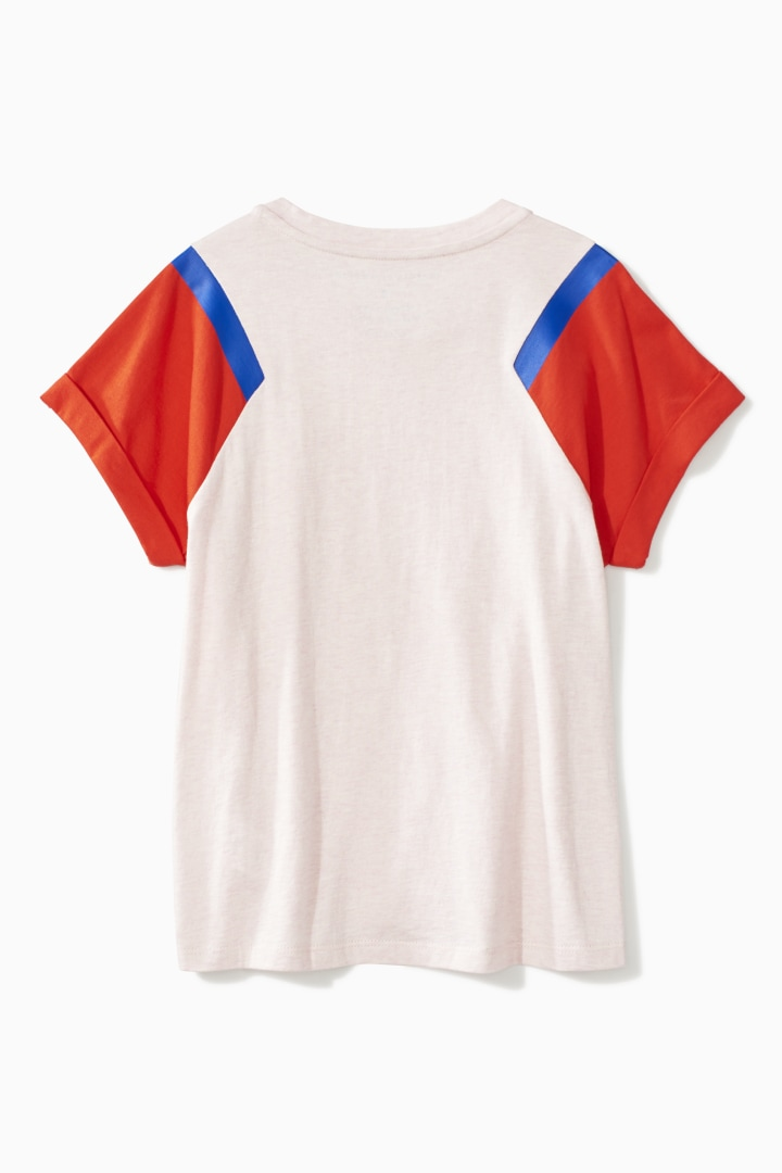 Color Block Tee back