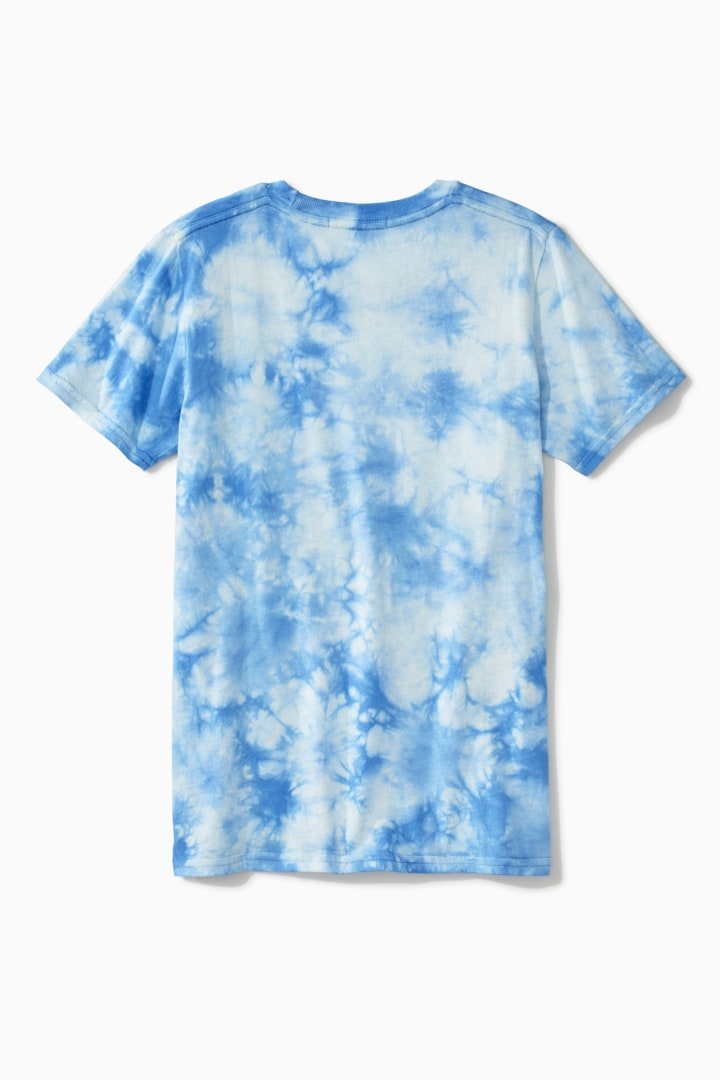 Awesome Tie Dye Tee back