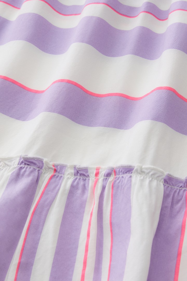 Mixed Stripe Tiered Blouse detail