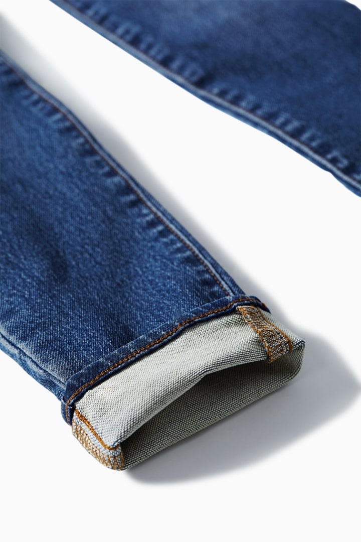 5-Pocket Knit Skinny Jean detail