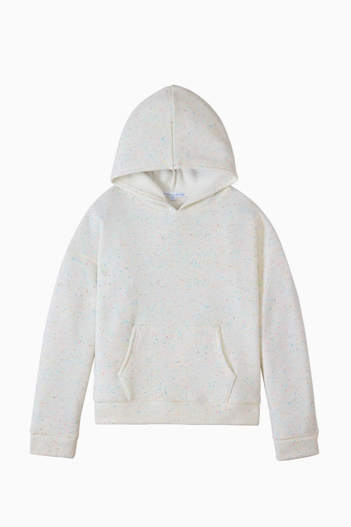 Cozy Confetti Hoodie front