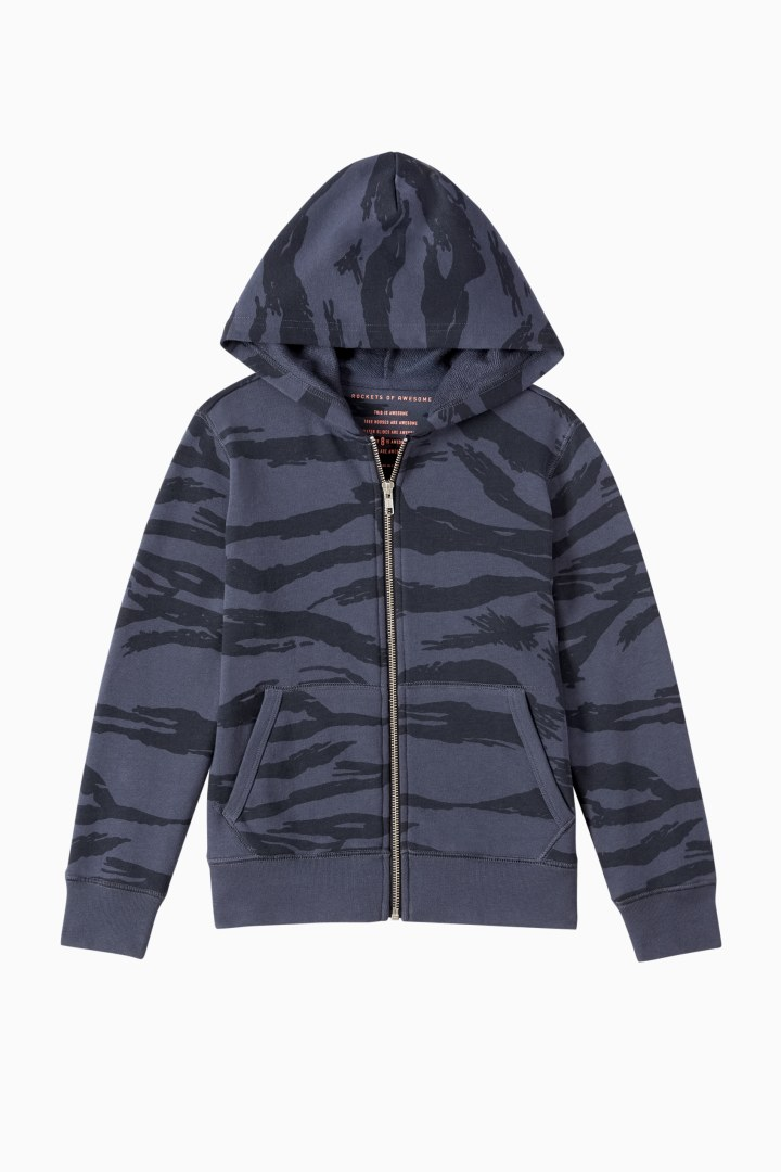 Tiger Full-Zip Sweatshirt front