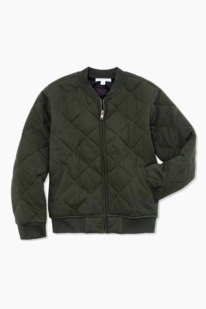 Quilted Bomber front