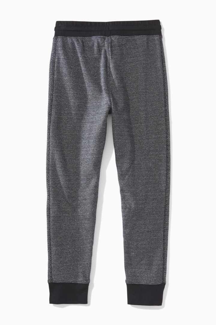 Piped Textured Jogger  back