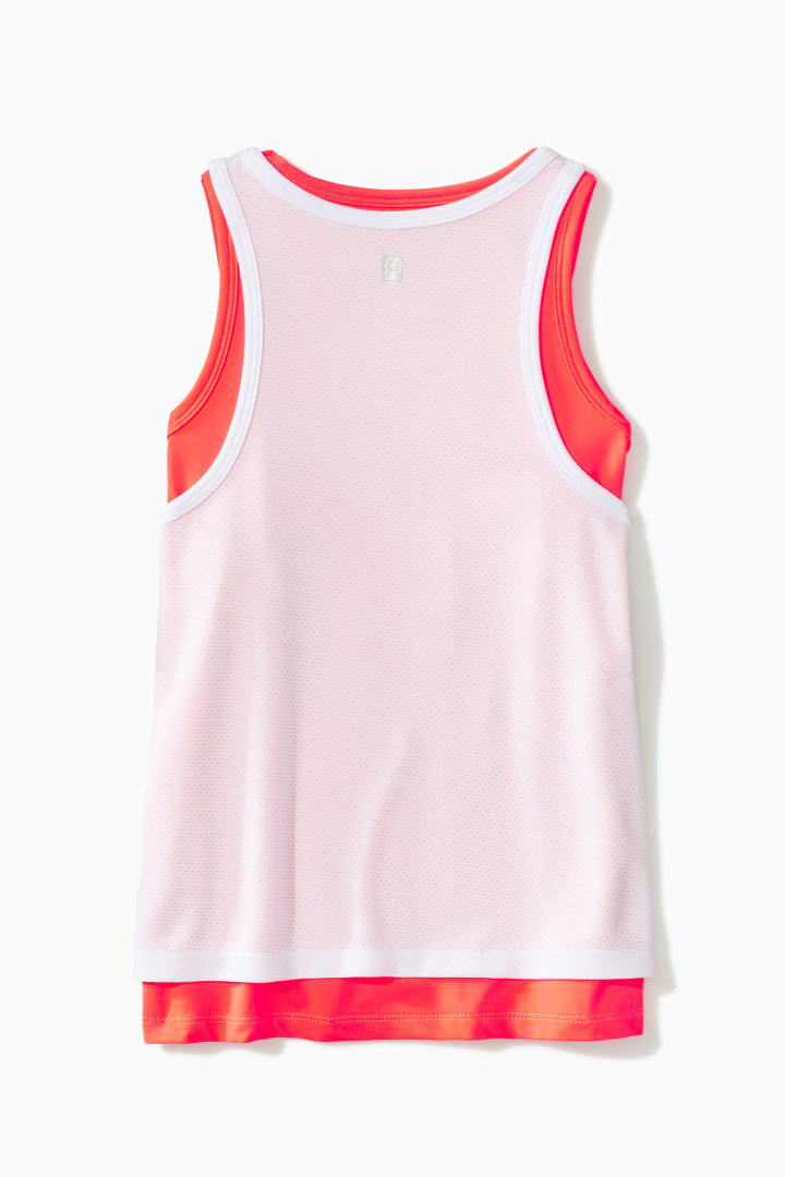 Double Layer Mesh Active Tank back