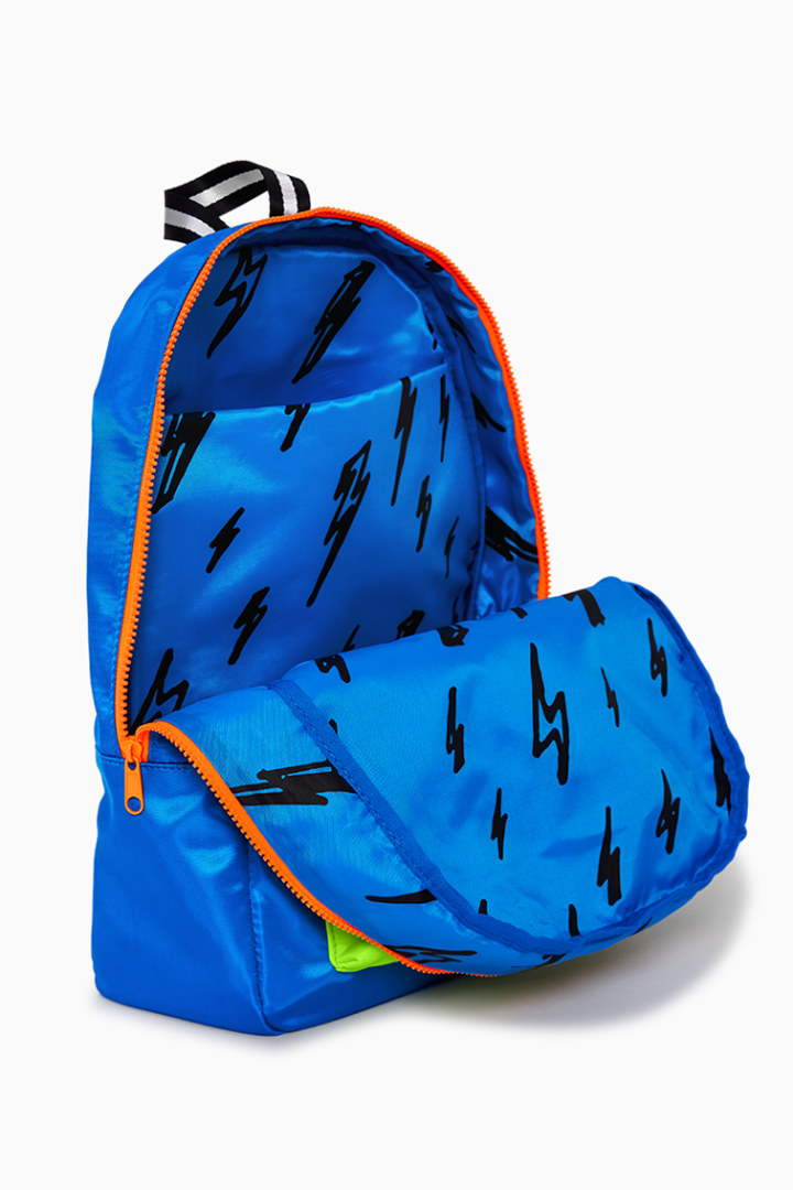 Neon Blue Backpack other