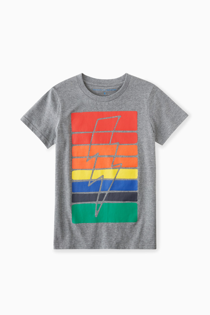 Rainbow Bolt Tee Main Image