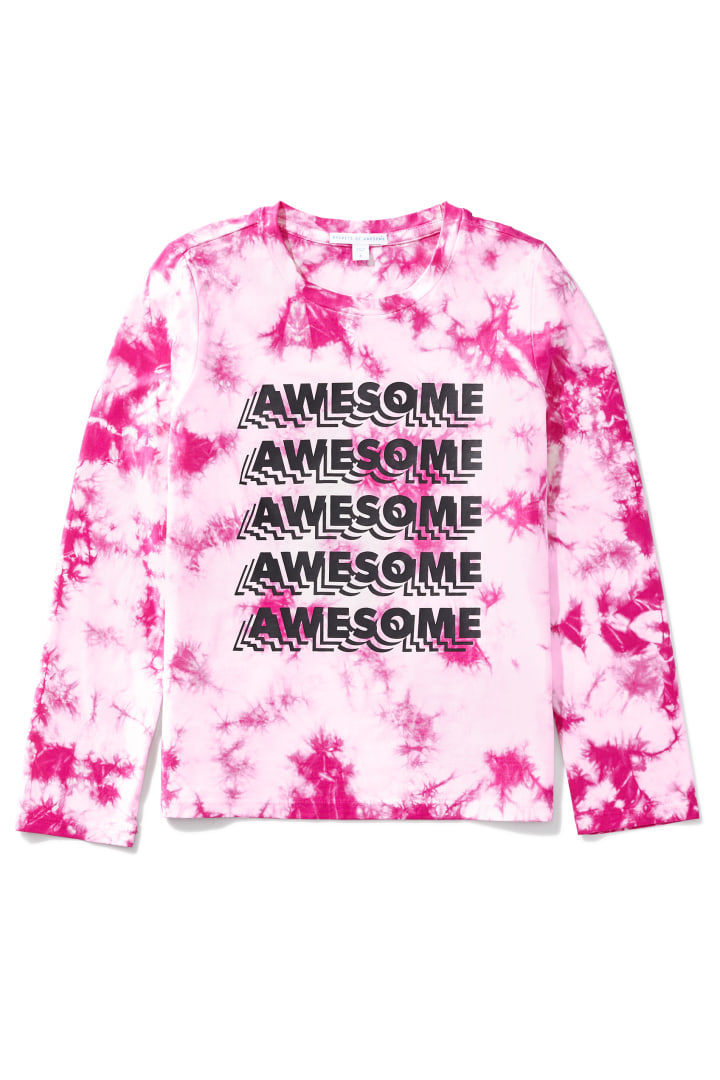 Awesome X5 Tie-Dye Tee front