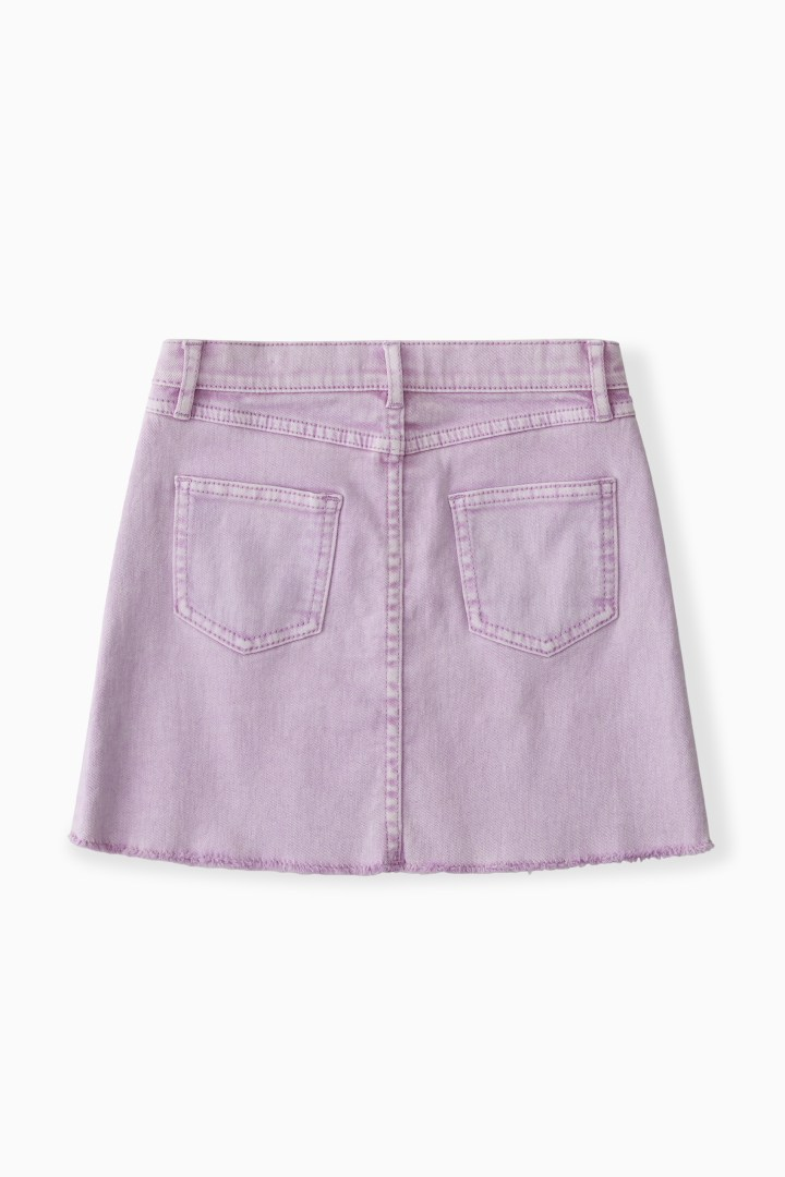 5-Pocket Denim Skirt back