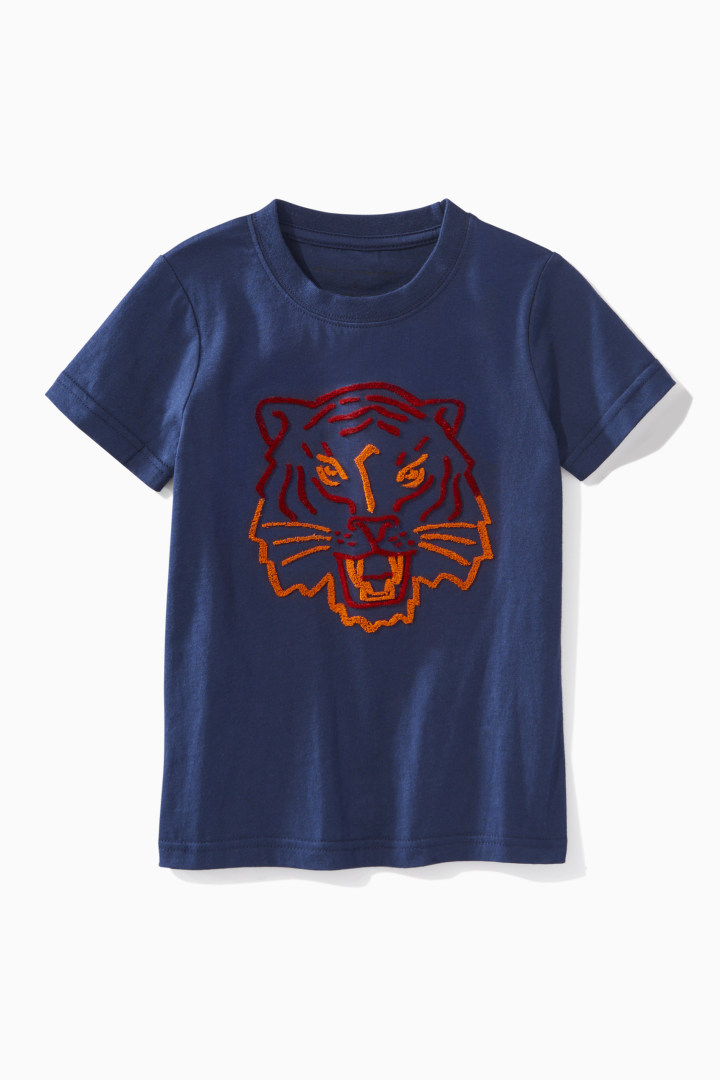 Fuzzy Tiger Tee front