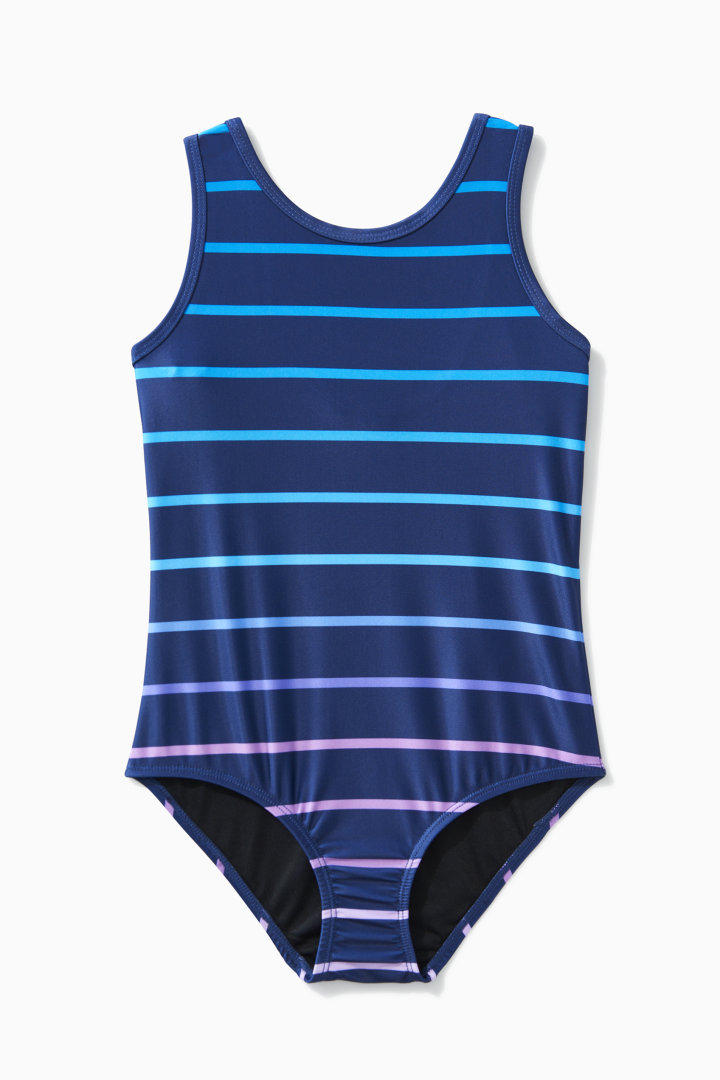 Ombre Stripe One Piece  front