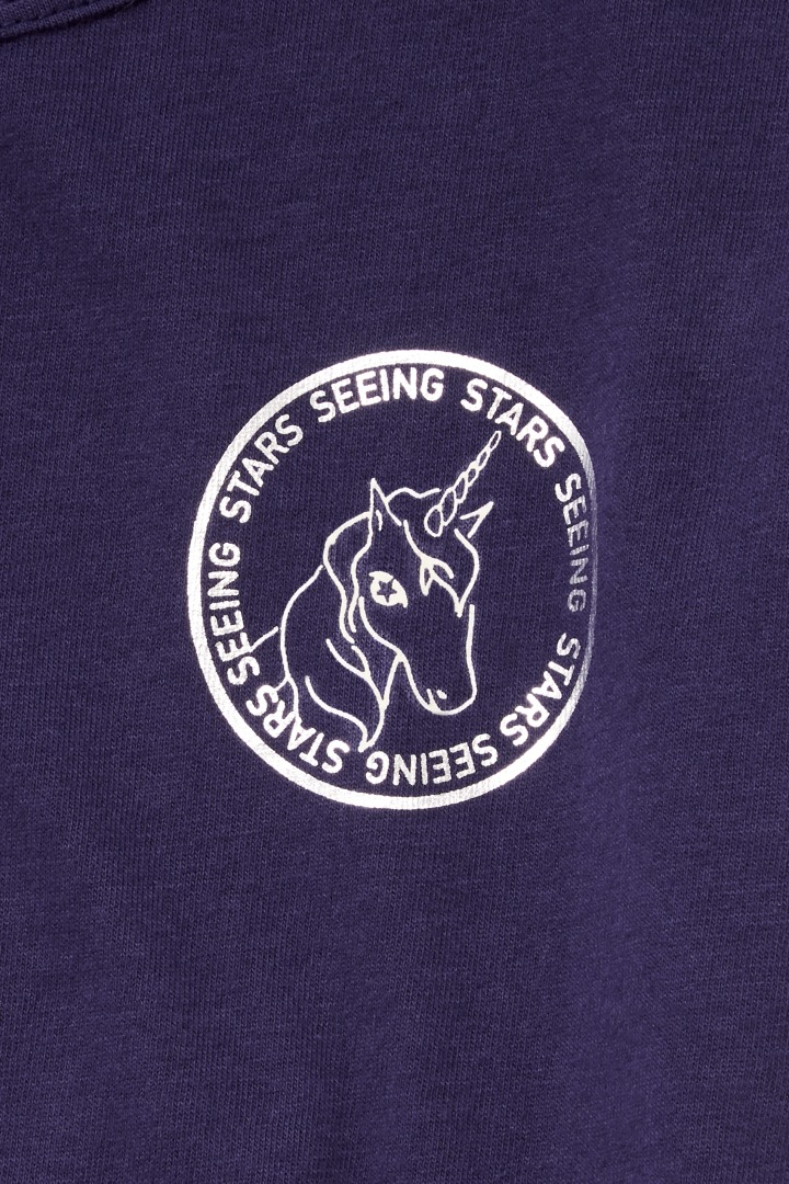 Glow-In-The-Dark Unicorn Tee on model