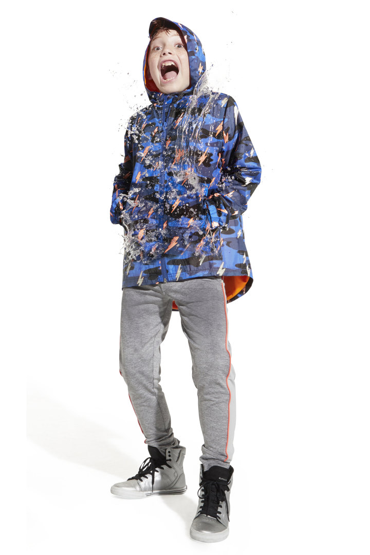 Color-Changing Raincoat In Camo other