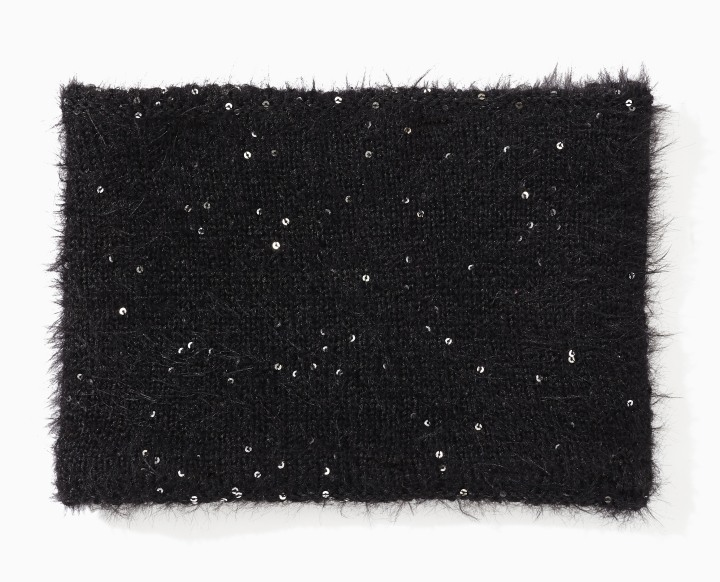 Twinkle Textured Neck Warmer front