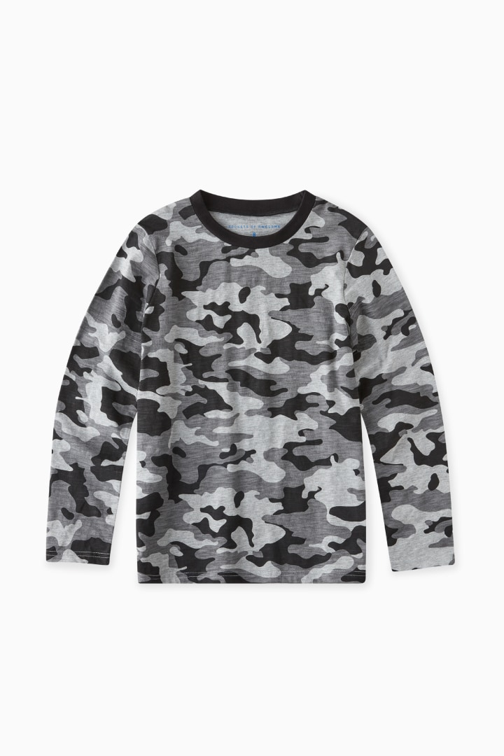 Thundercloud Camo Tee front