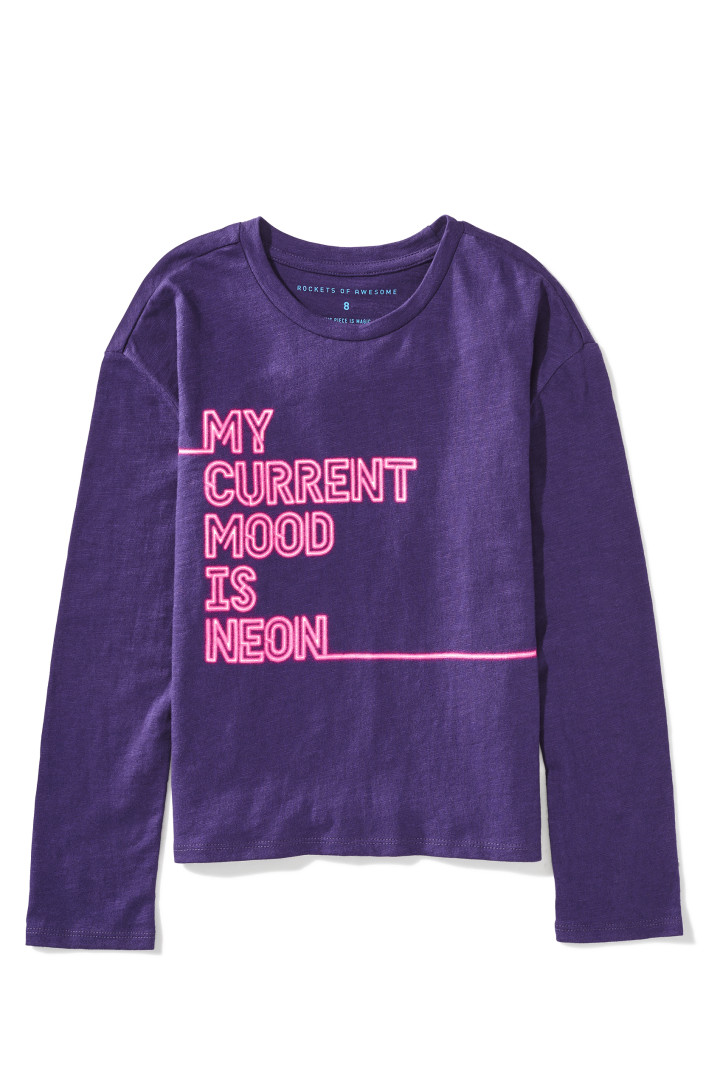Current Mood Neon Tee front