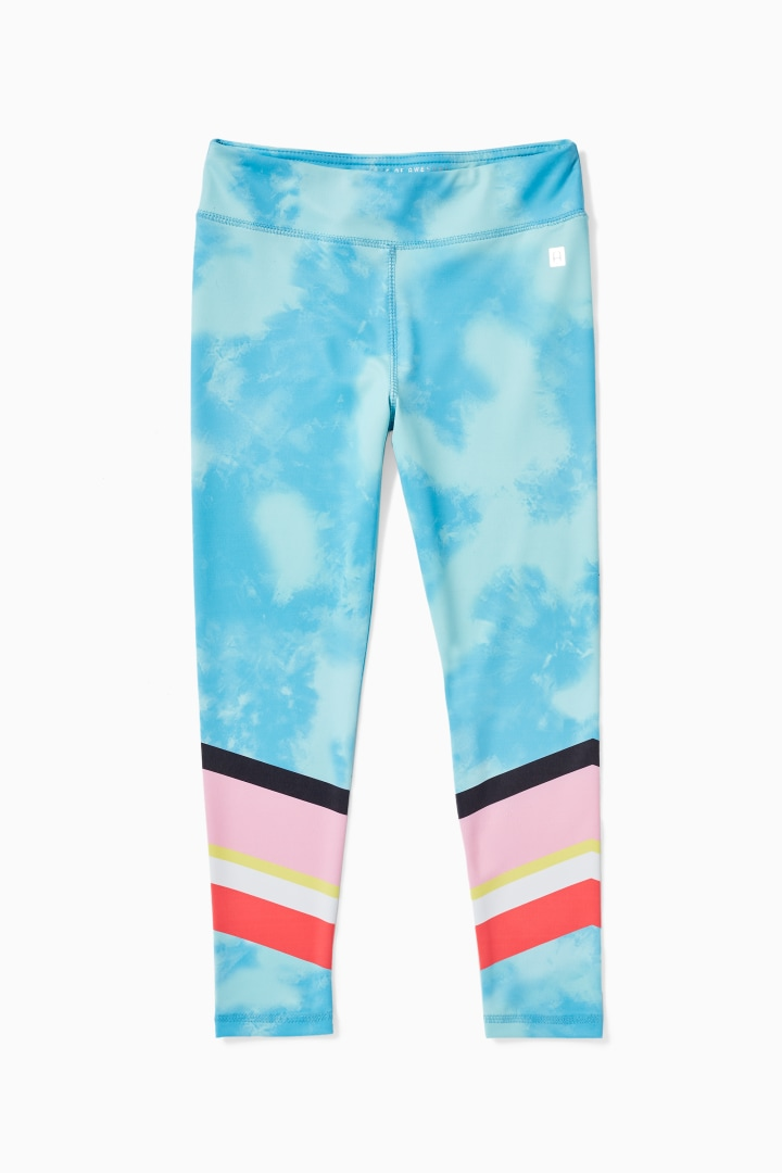 Tie-Dye Chevron Active Legging Main Image