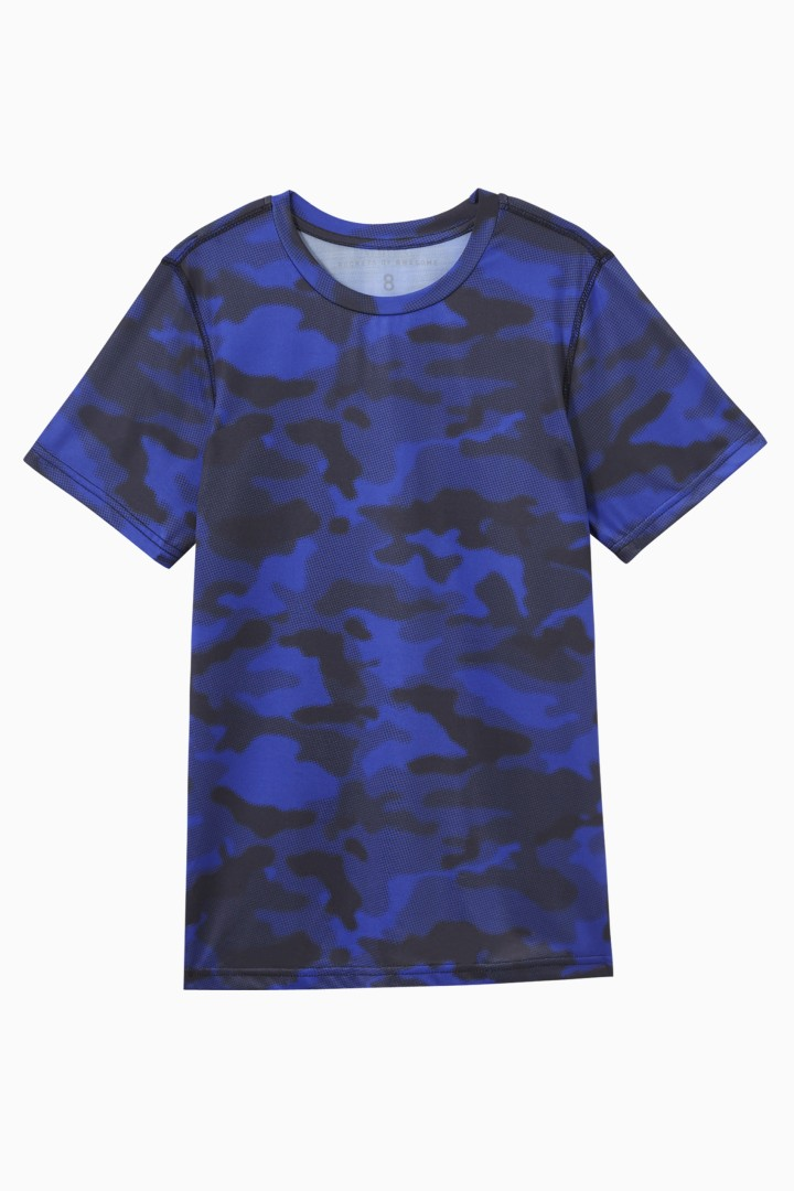 Graphic Camo Active Tee front