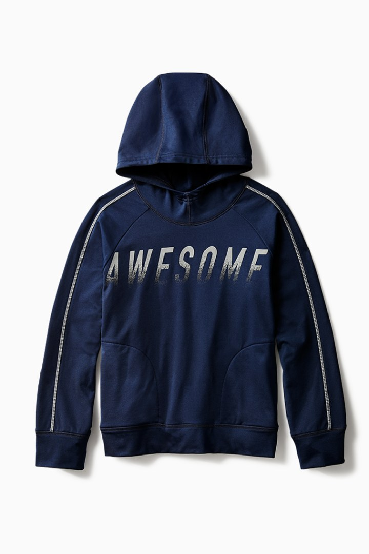 Static Awesome Active Hoodie front