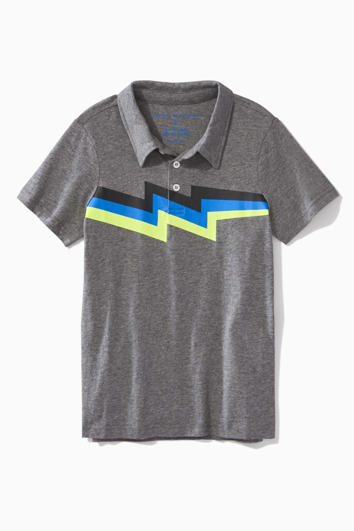 Lightning Polo front