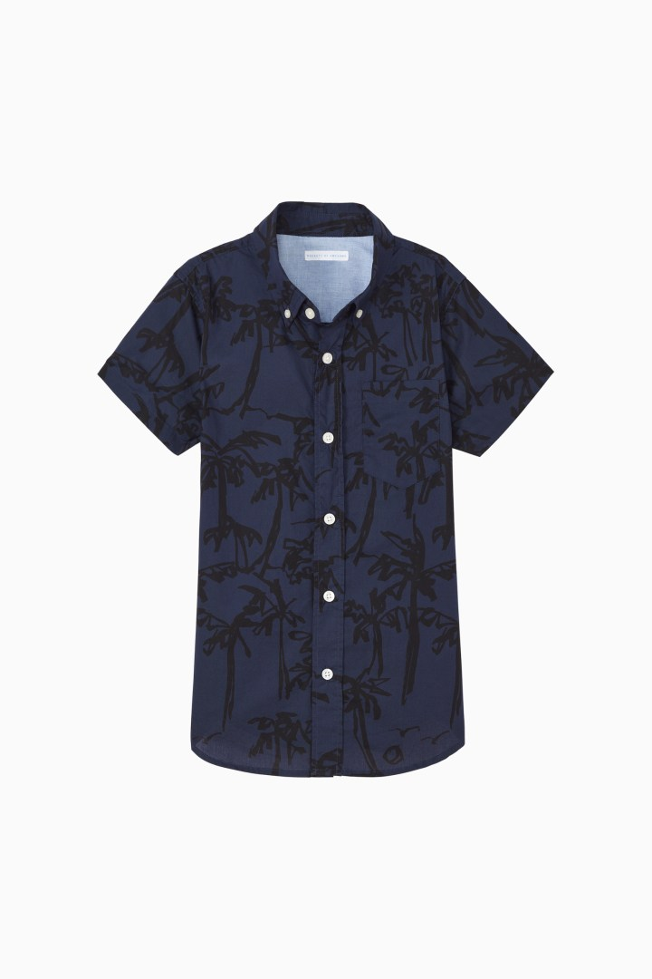 Palm Button Down front