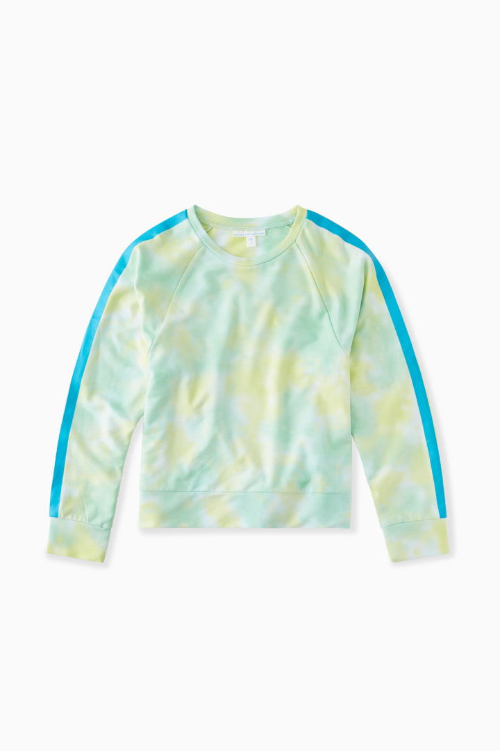 Chillout Tie-Dye Crew front