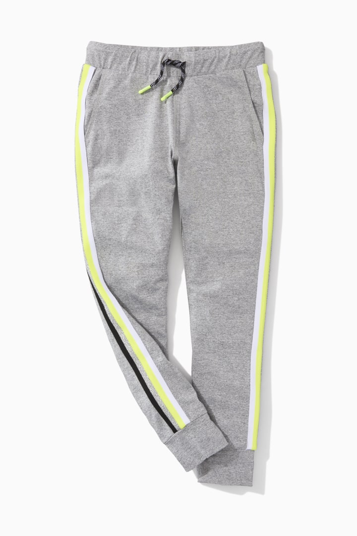 Rainbow Side Stripe Active Jogger detail