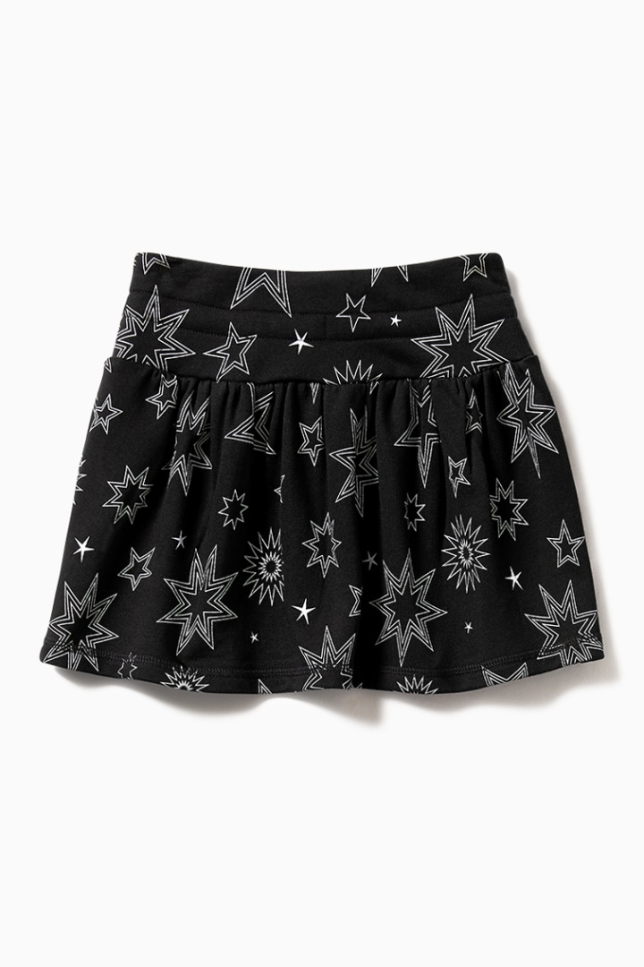 Dynamite Star Knit Skater Skirt back