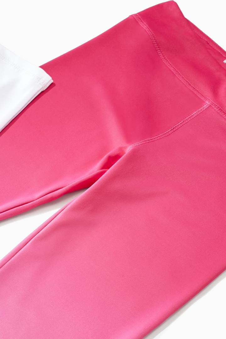 Pink Ombre Active Legging detail