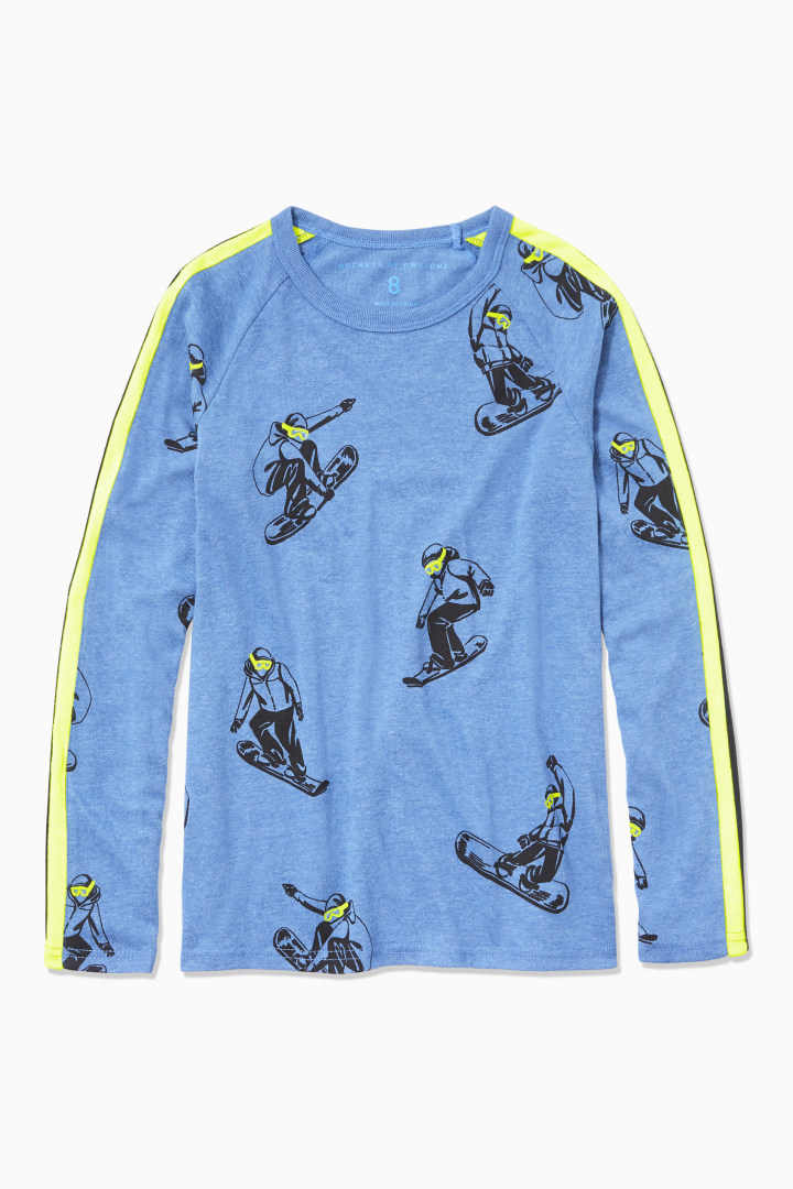 Snowboarder Tee front