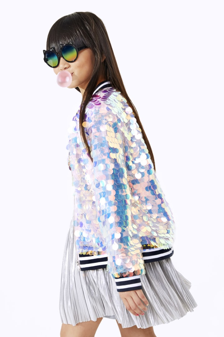 Magical Paillette Sequin Bomber other