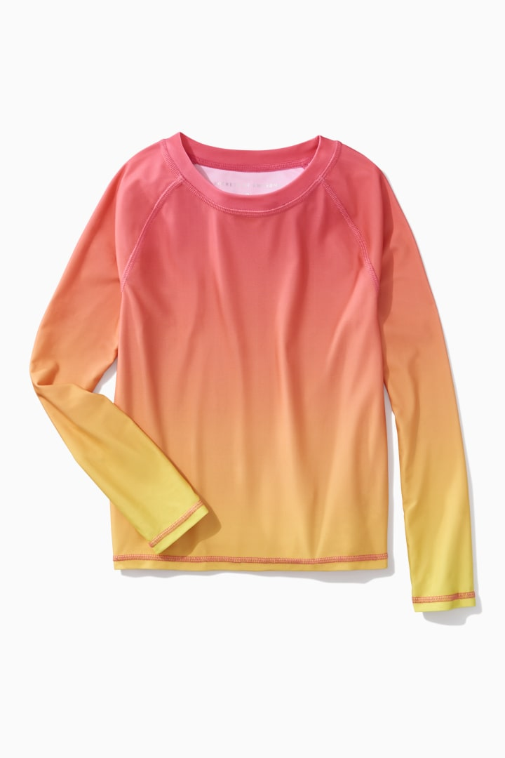 Ombre Rash Guard Main Image
