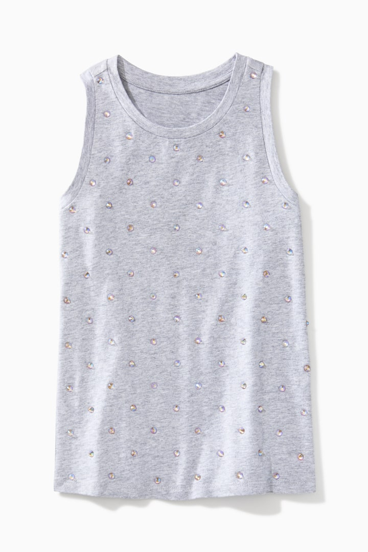 Allover Jewel Tank front