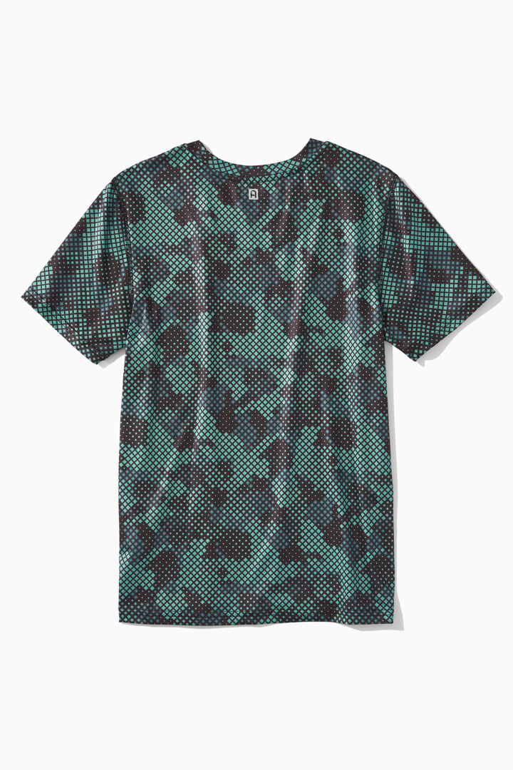 Camoish Active Tee back