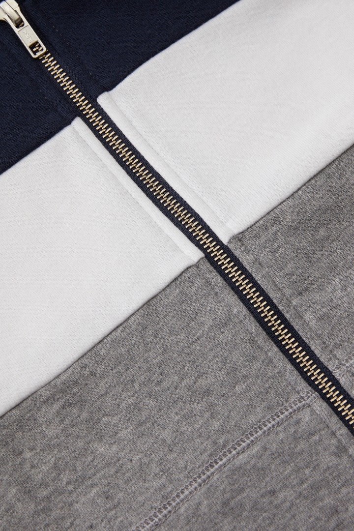 Colorblock Full-Zip Sweatshirt detail